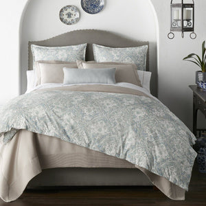 Seville Percale Duvet Cover bedroom