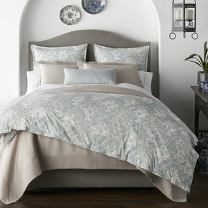 Seville Percale Sham bed