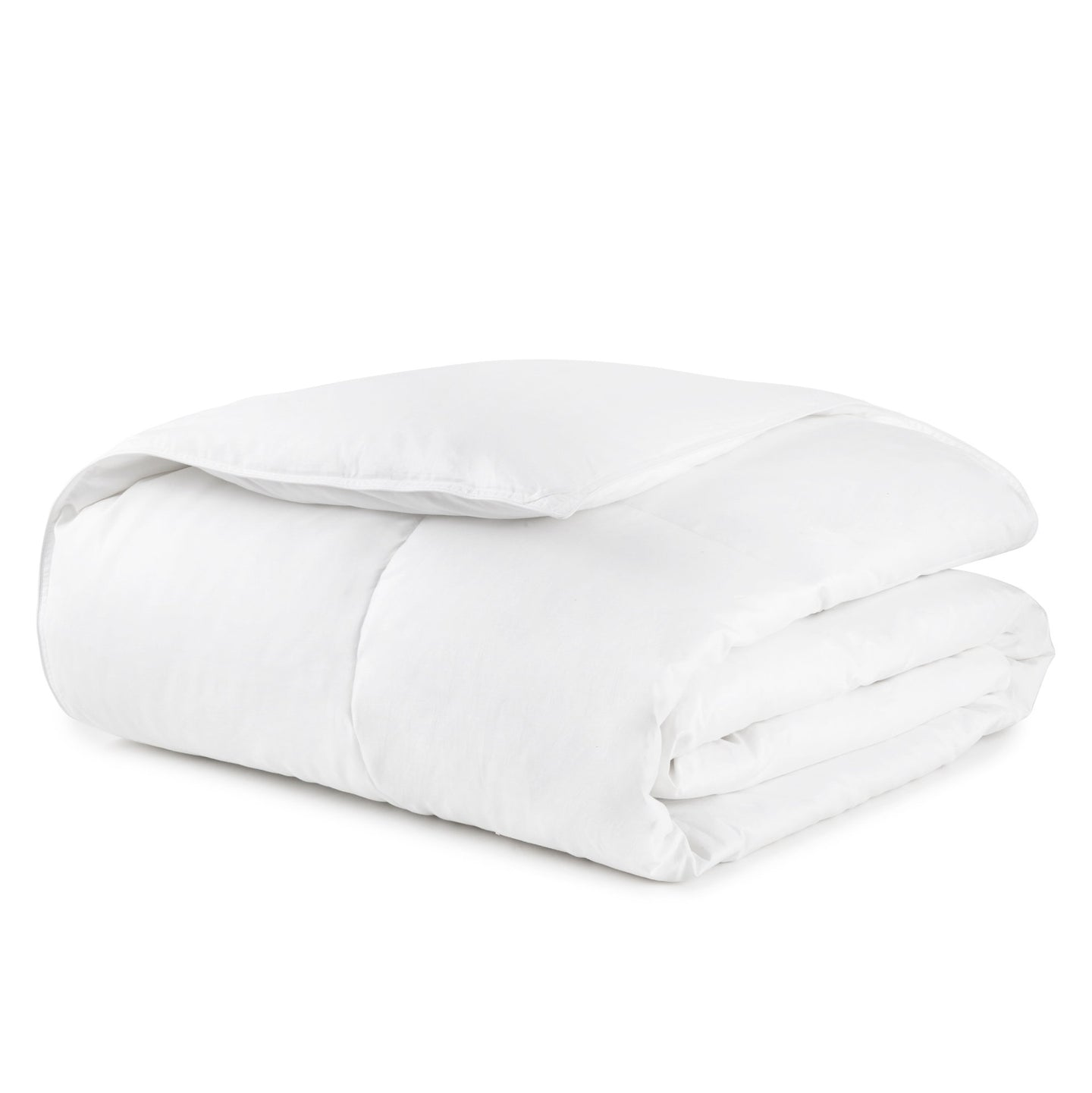 white goose down duvet insert folded