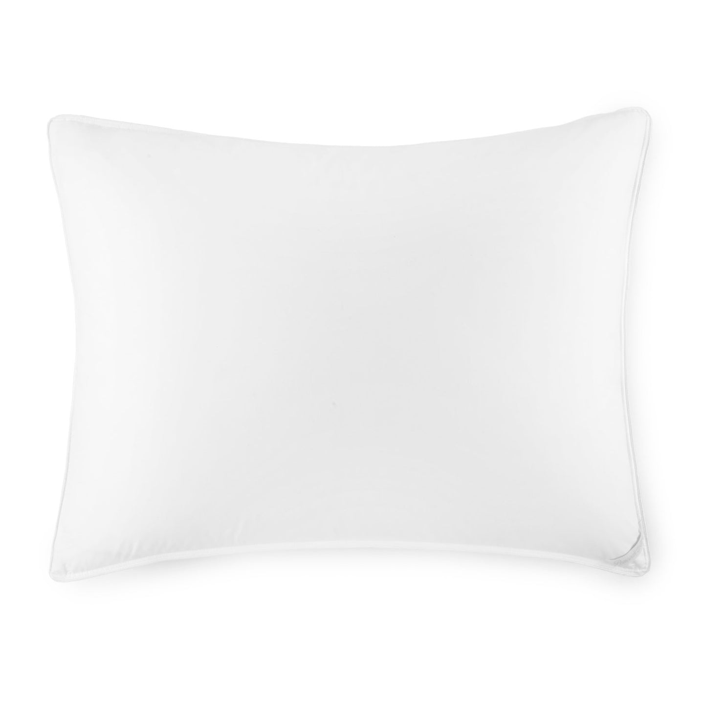 White goose down bed pillow