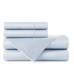 Soprano Sateen Sheet Set Barely Blue