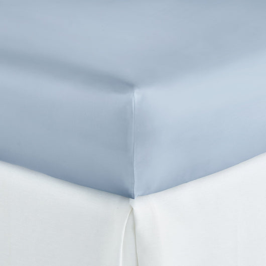 Soprano Sateen Fitted Sheet blue