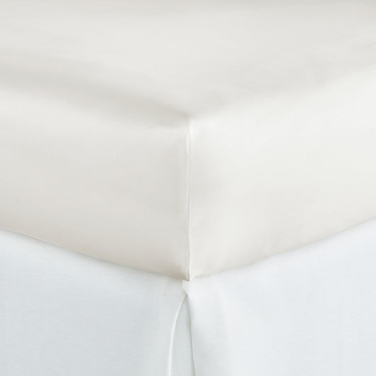 Soprano Sateen Fitted Sheet ivory