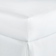 Load image into Gallery viewer, Soprano Sateen Fitted Sheet white