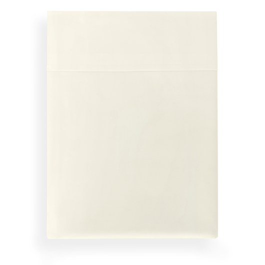 SUPIMA® 45 Percale Flat Sheet ivory