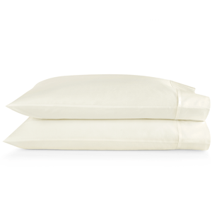 SUPIMA® Semplice Sateen Pillow Cases ivory