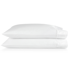 Load image into Gallery viewer, SUPIMA® Semplice Sateen Pillow Cases white