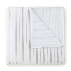Taylor striped jacquard duvet cover