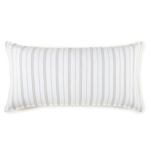 Taylor striped jacquard king sham
