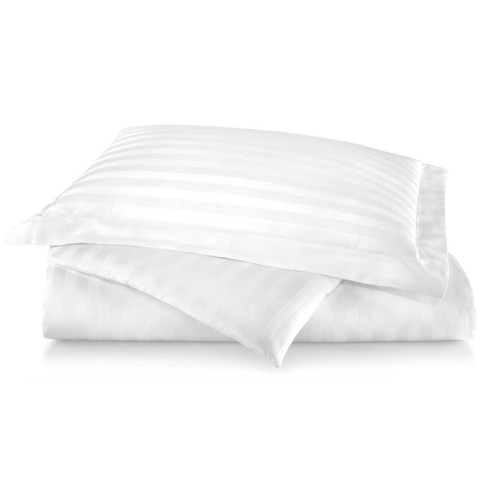 Duet Striped Sateen Duvet Cover