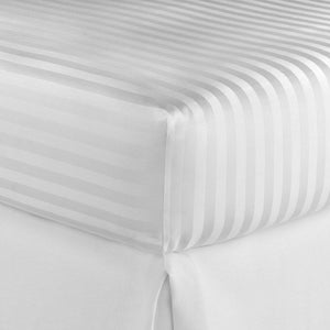 Duet Fitted White Sheet