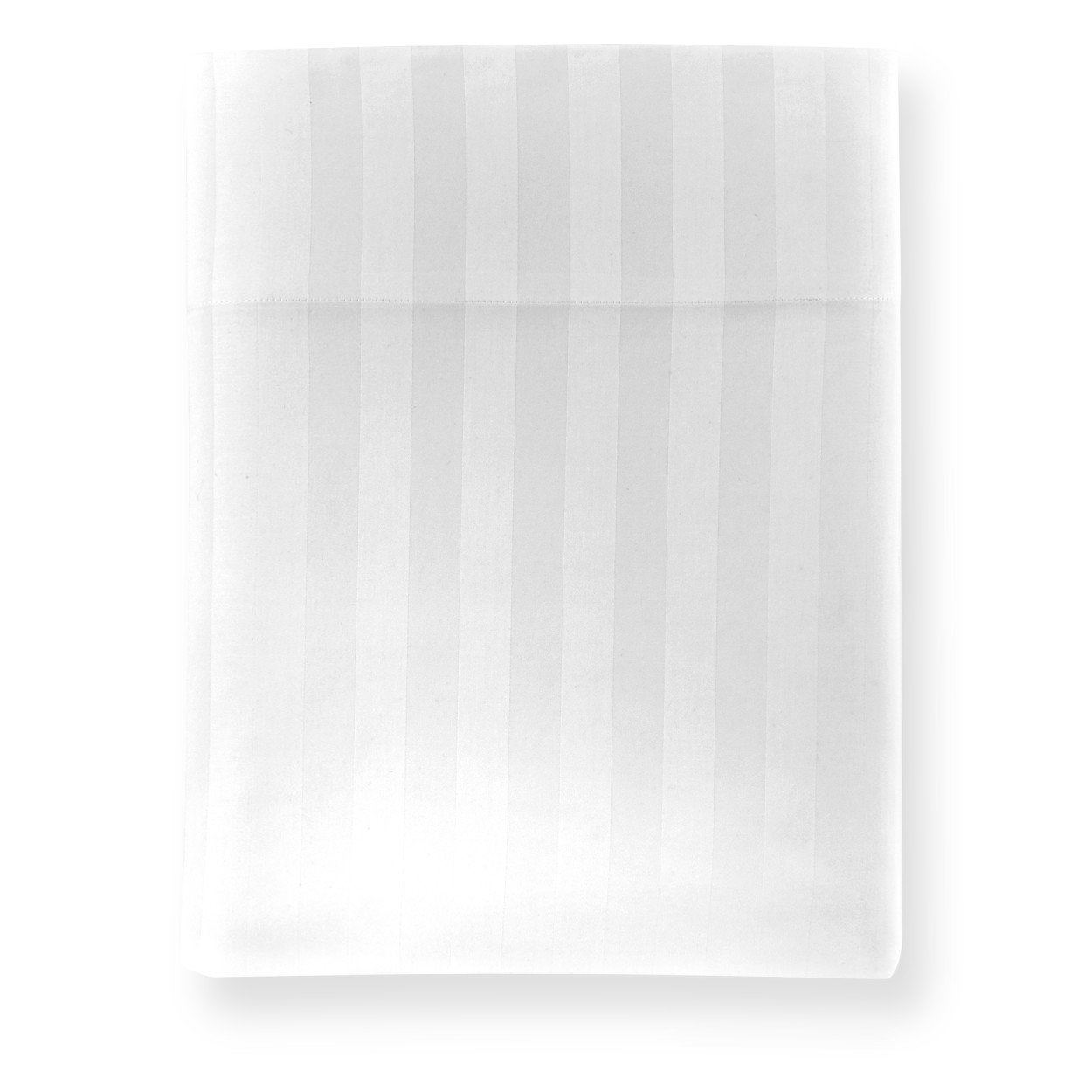 Duet Striped Sateen Flat Sheet