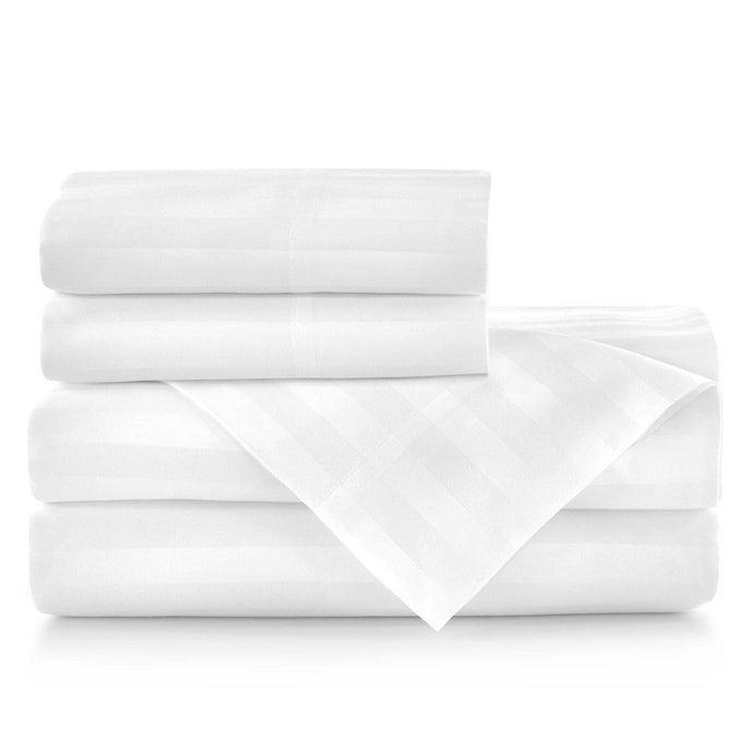 peacock alley duet white sheet stack