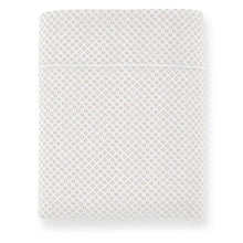 Load image into Gallery viewer, Emma Flat Sheet Linen geometrical pattern