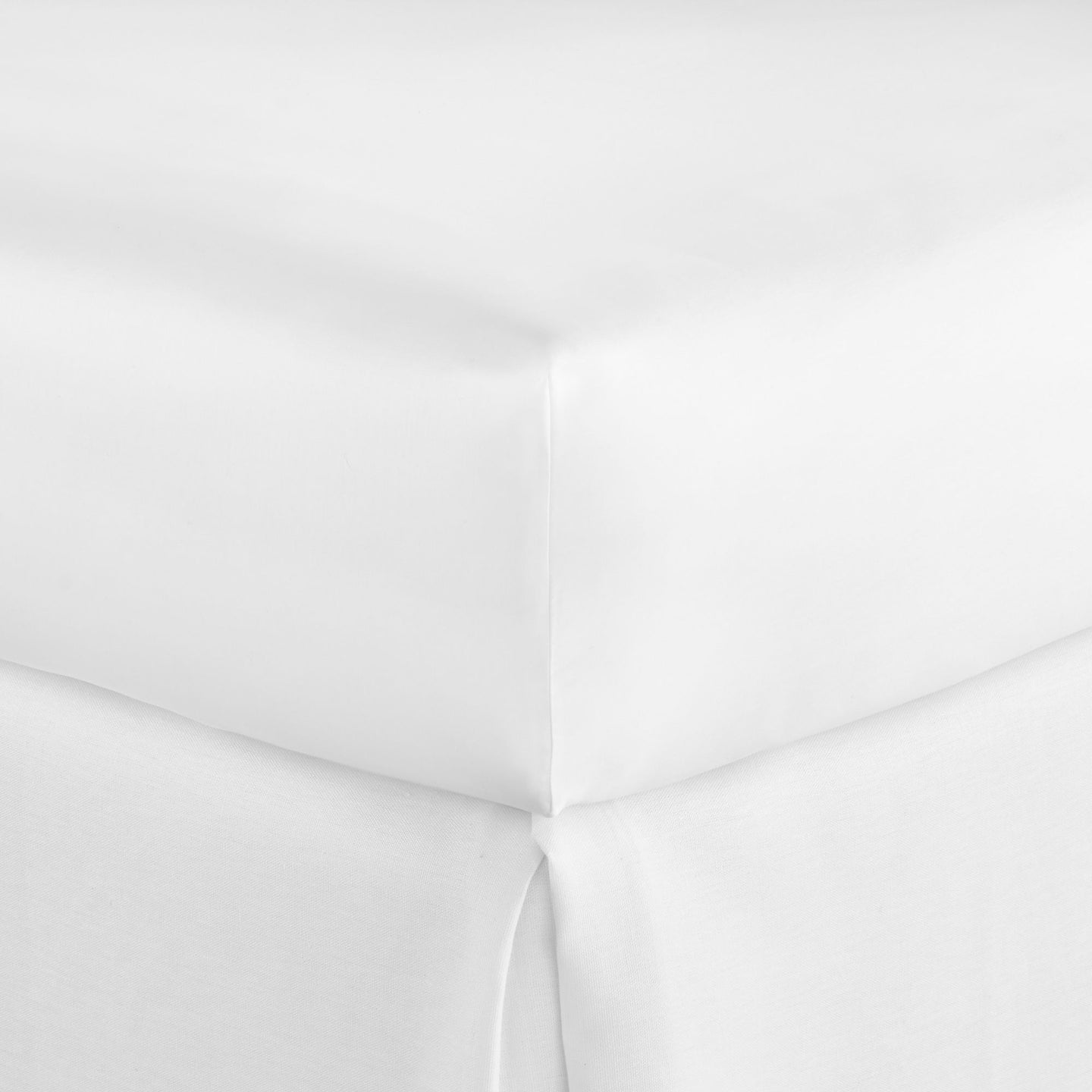 SUPIMA® Semplice Sateen Fitted Sheet white