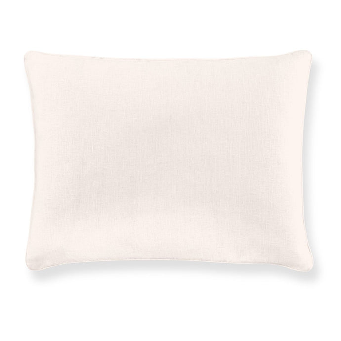 mandalay linen sham blush