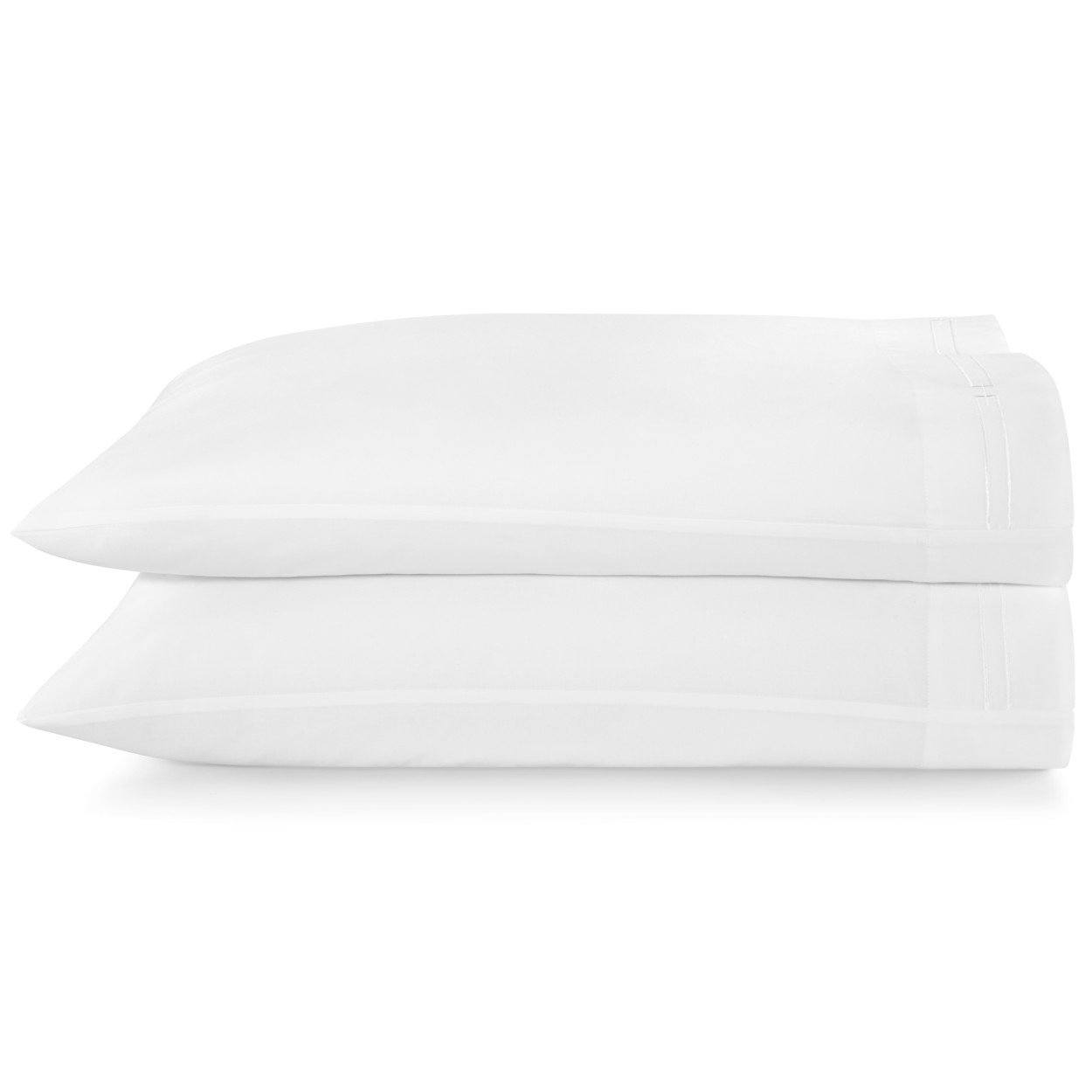 Stanza Embroidered Sateen Pillow Cases