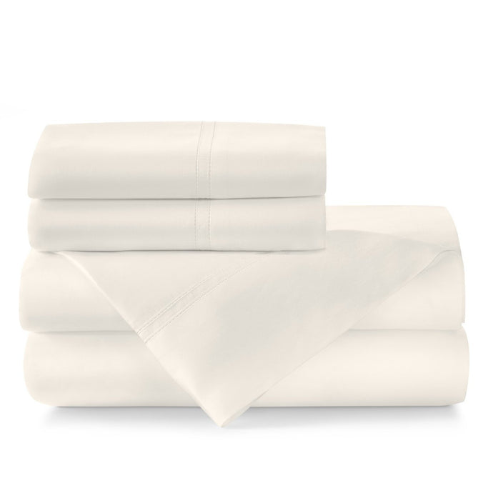 Virtuoso sateen sheet set Ivory