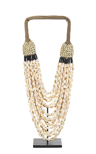 Collier Papou - Coquillages et Perles