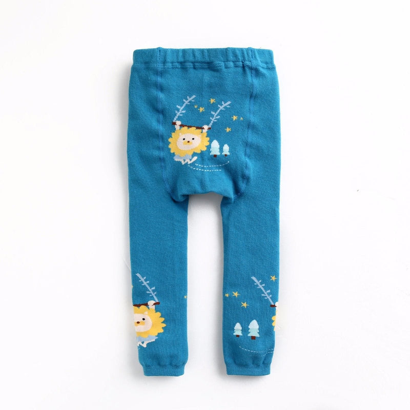 Eva & Elvin Pencil Pants (Busha) - Swinging Lion - Happy BeeHinds