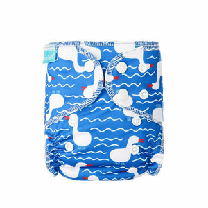 Diaper Cover by Happy BeeHinds - Soft Blue