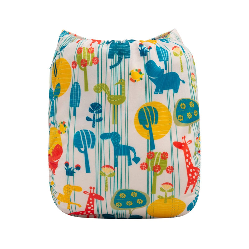 Alva Newborn Snap Pocket Diaper - Bee's - Happy BeeHinds