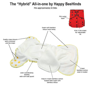 "The ""Hybrid"" All In One by Happy BeeHinds"