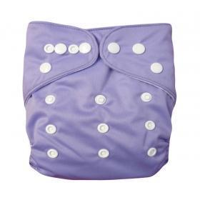 Alva Solid Color Pocket Diaper - Lavender - Happy BeeHinds