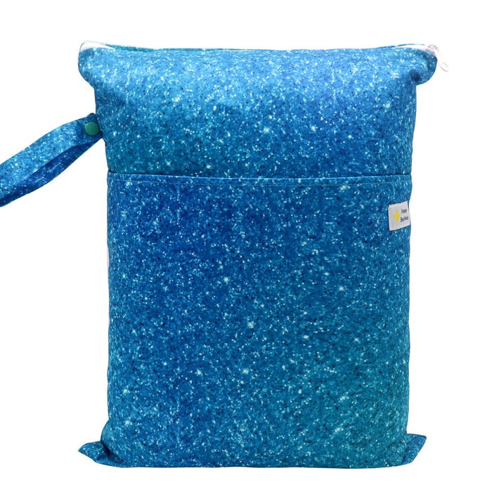 Double Pocket Wet Bag by Happy BeeHinds - Sparkle