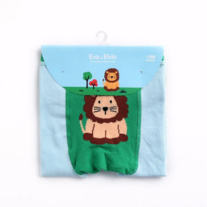 Eva & Elvin Pencil Pants (Busha) - Lion - Happy BeeHinds