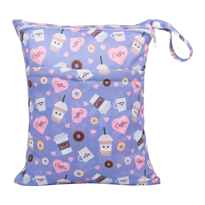 Happy BeeHinds Limited Edition Wet Bag - Coffee Love