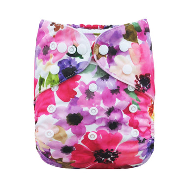 Alva Diaper Cover - Pansy - Happy BeeHinds