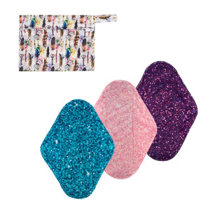Cloth Pad 3 Pack Combo - Large