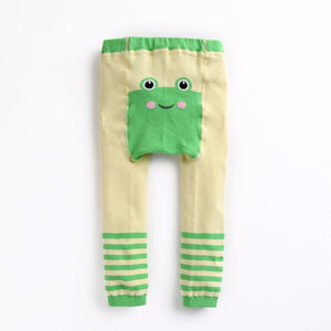 Eva & Elvin Pencil Pants (Busha)- Frog - Happy BeeHinds