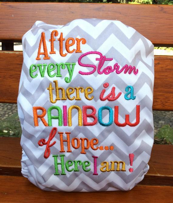 Embroidered AIO - After The Storm