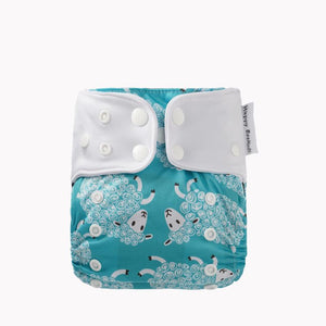 Perfect Fit 2 Pocket Diaper by Happy BeeHinds