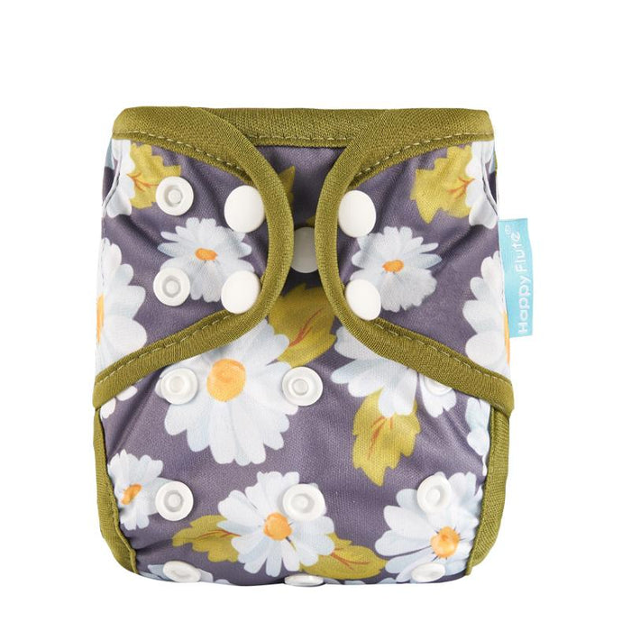 Happy Flute Diaper Cover - Daisy Dream