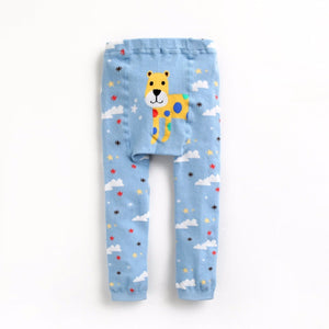 Eva & Elvin Pencil Pants (Busha) - Cheetah - Happy BeeHinds