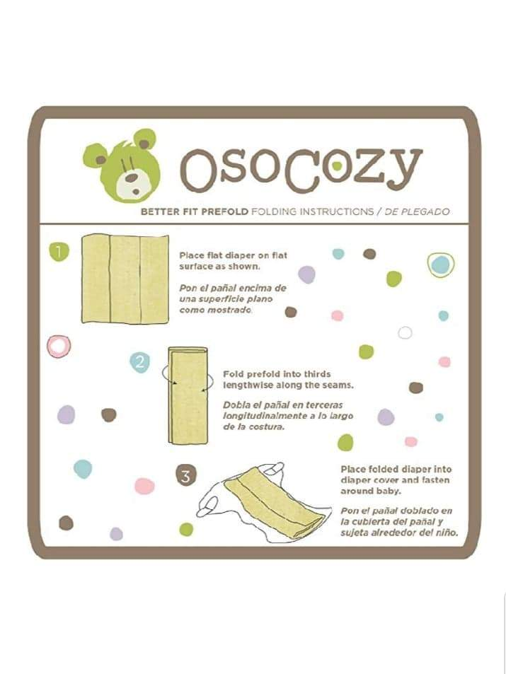 "OsoCozy ""Better Fit"" Unbleached PreFold"
