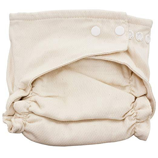 Bamboo Organic Fitted Diaper - Happy BeeHinds