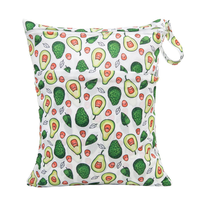Happy BeeHinds Limited Edition Wet Bag - Avocado