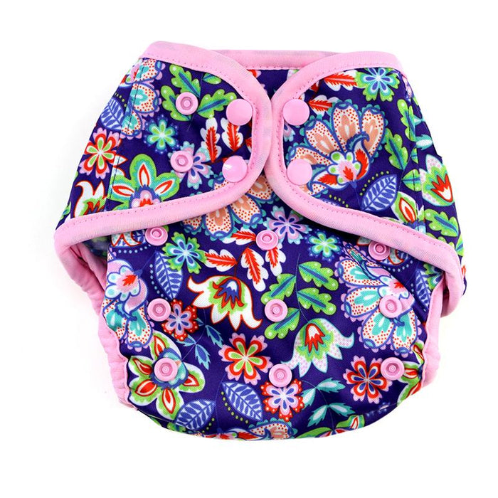 Diaper Cover by Happy BeeHinds - Flower