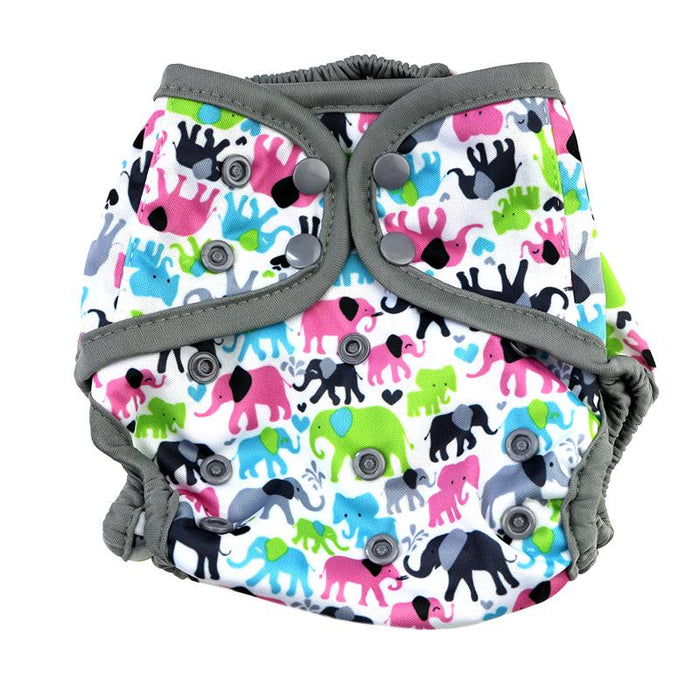 Diaper Cover by Happy BeeHinds - Elephant