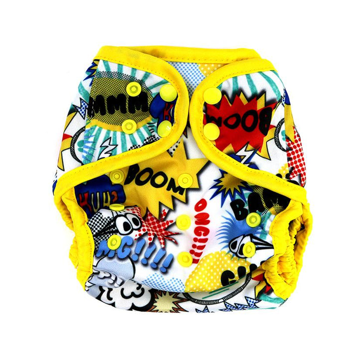 Diaper Cover by Happy BeeHinds - Boom Bam!
