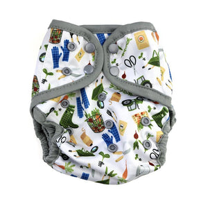 Diaper Cover by Happy BeeHinds - Gardening