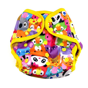 Diaper Cover by Happy BeeHinds - Animal Faces