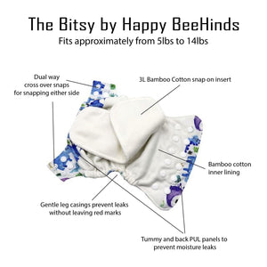 "The ""Bitsy"" by Happy BeeHinds"