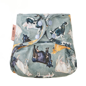 Petite Crown Catcher One Size Diaper Cover