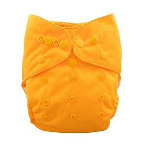 Alva Diaper Cover - Yellow - Happy BeeHinds