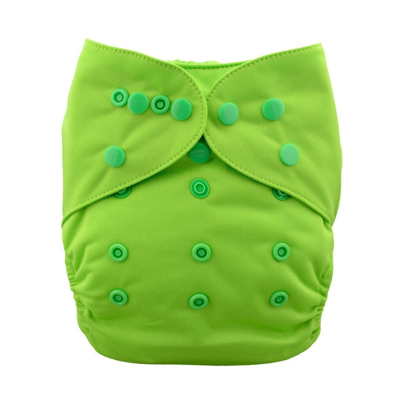 Alva Diaper Cover - Green - Happy BeeHinds